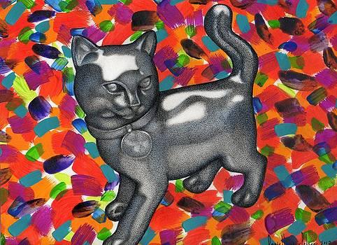 Monopoly Cat by Daniel Levy policar