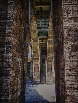 Monroe St bridge archway by Dan Quam