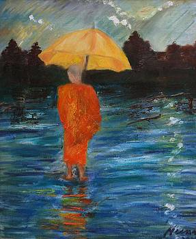 Monsoon Walk by Neena Alapatt