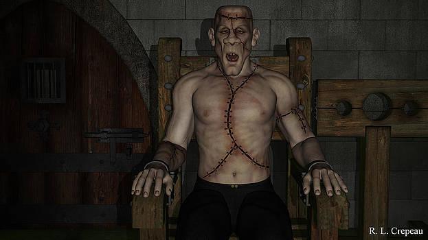 Robert Crepeau - Monster in the Dungeon