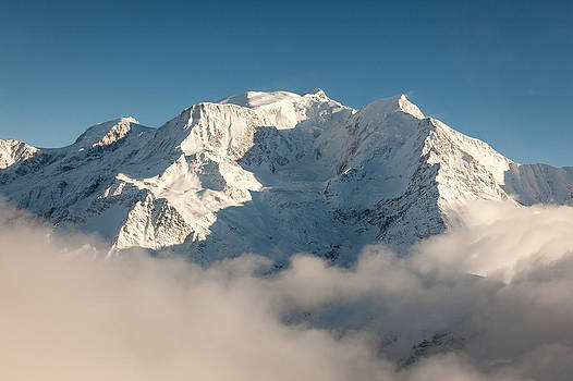 Joshua McDonough - Mont Blanc in Winter