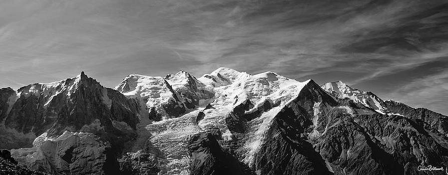 Mont Blanc massif by Camilla Brattemark
