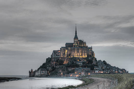 Mont Saint Michele - Normandy France by Pier Giorgio Mariani