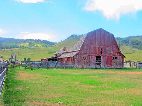 Montana Barn by Bill Talich
