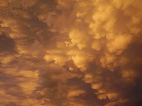 Montana Clouds at Sunset by Yvette Pichette