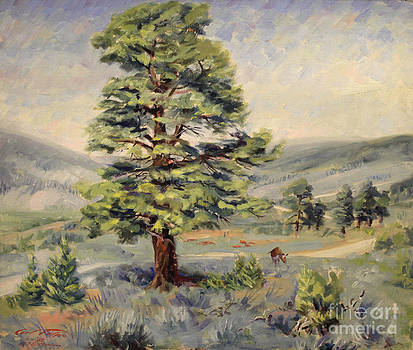 Art By Tolpo Collection - Montana Grazer 1935