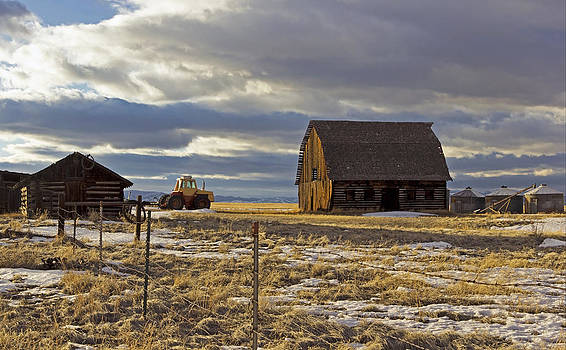 Montana Rural Scenery by Dana Moyer