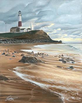 Montauk Lighthouse by Edward Coster