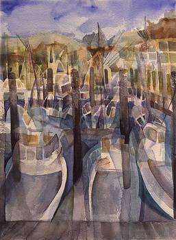 Montauk Marina by Lynne Bolwell