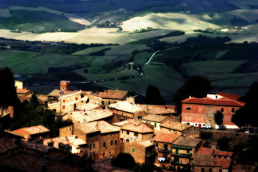 Montepulciano IT by Michael Fahey
