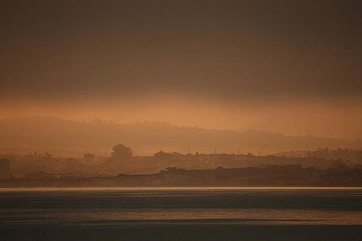 Monterey Bay Morning Glow by Elery Oxford