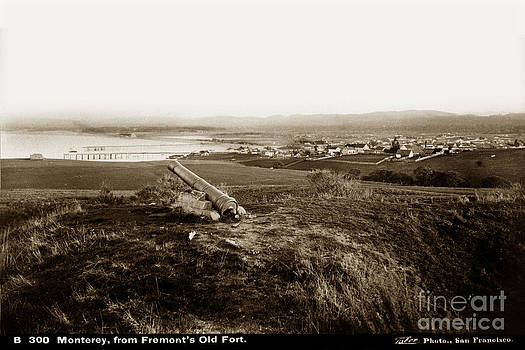 California Views Mr Pat Hathaway Archives - Monterey From Fremonts Old Fort circa 1880