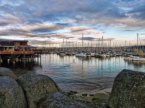 Monterey Marina California by Kathy Churchman