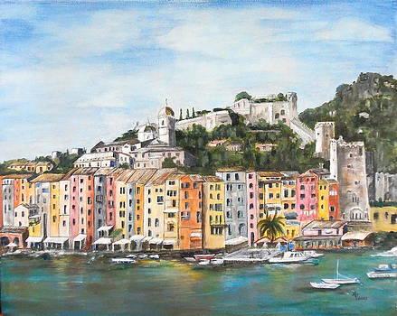Monterossa Cinque Terre by Maureen Pisano