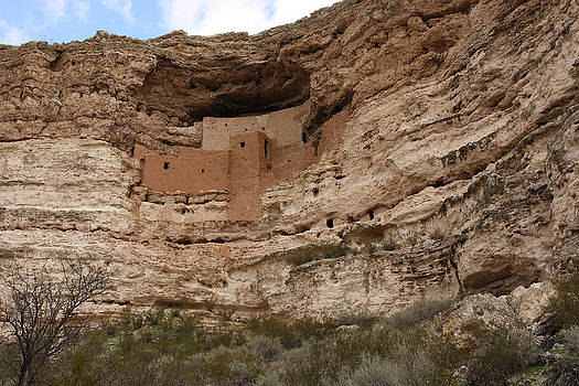 Montezuma Castle Cape Verde AZ by Gail Maloney