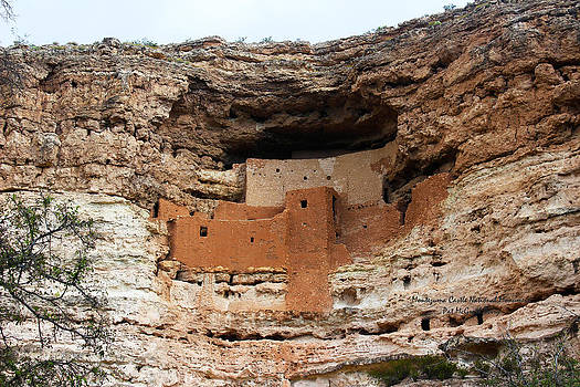 Montezuma Castle National Monument by Pat McGrath Avery
