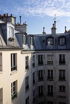 Harold E McCray - Montmartre Roof Tops I