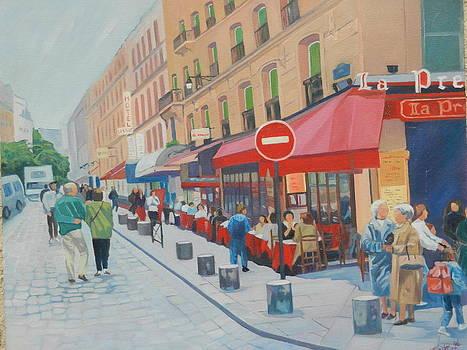 Montparnasse Paris by D Marie LaMar