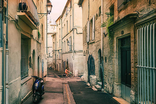 Montpellier - France - Street in the Afternoon by Vivienne Gucwa