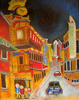Montreal Memories Chinatown by Michael Litvack
