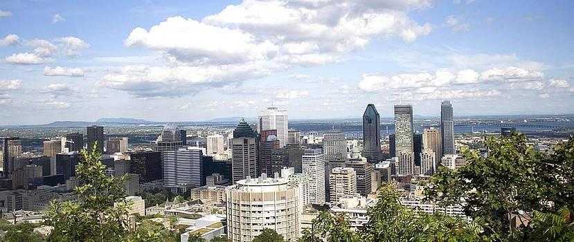 Veronica Vandenburg - Montreal Skyline 2