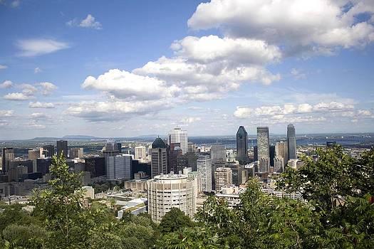 Veronica Vandenburg - Montreal Skyline