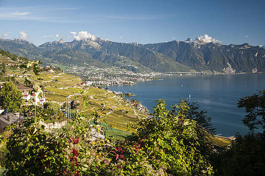 Montreux on Lake Geneva by Rob Hemphill