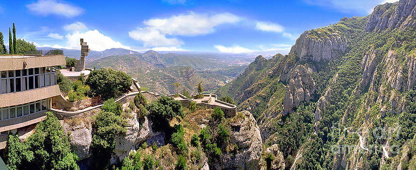 David Zanzinger - Montserrat Barcelona Spain Benedictine Mountain Monk retreat