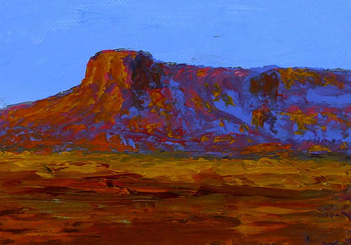 Fred Wilson - monument valley at sunset