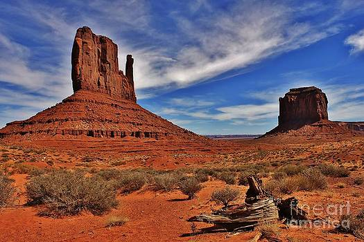 Monument valley by Bernard MICHEL