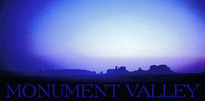 Monument Valley Dusk by Patrick Jennings