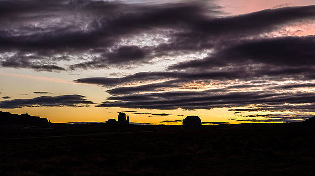 Monument Valley First Light by Todd Aaron
