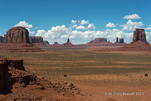 Monument Valley by M Chris Brandt