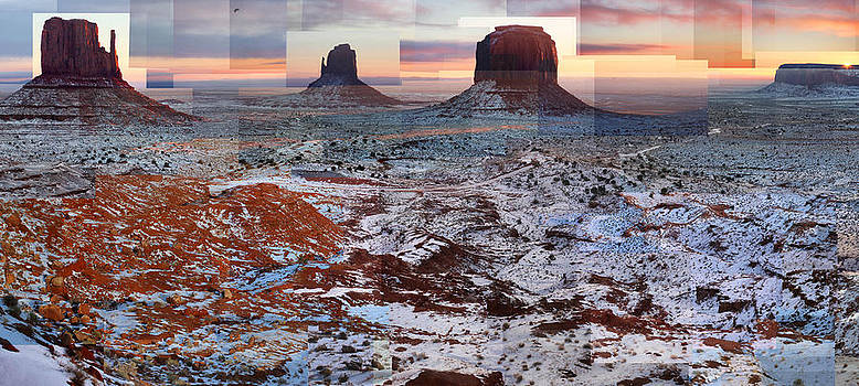 Monument Valley Mittens by Stephen Farley