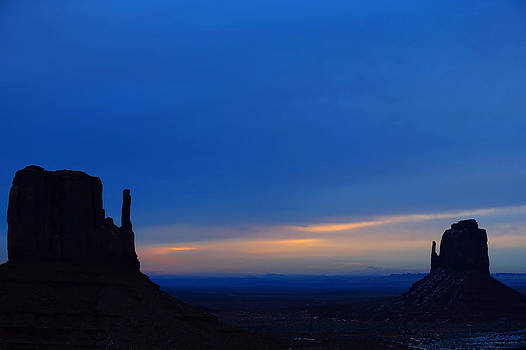 Monument Valley Sunrise by Kim French