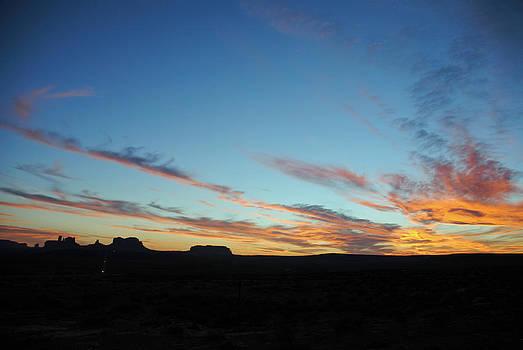 Jeff Brunton - Monument Valley Sunset 2