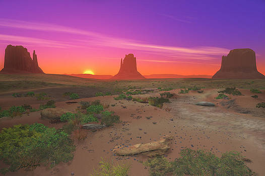 Monument Valley by Robert Taylor