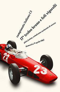 Georgia Fowler - Monza Italy Formula 3 1967