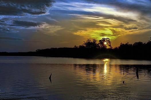 Moody Sunrise by Gene Zonis