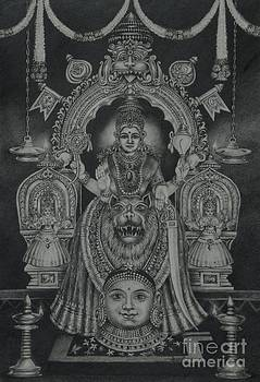 Mookambika Devi by Asha Sasikumar