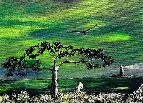 Anastasiya Malakhova - Moomintroll and Lighthouse