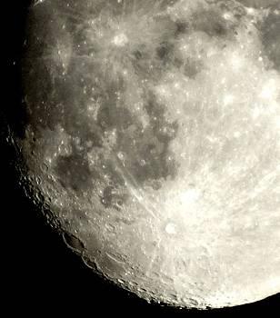 Moon Craters by Jon Glynn