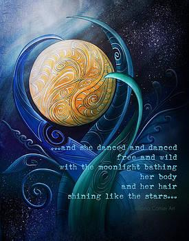 Moon Dance Stars by Reina Cottier