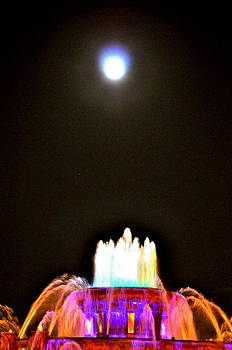 David Flitman - moon fountain