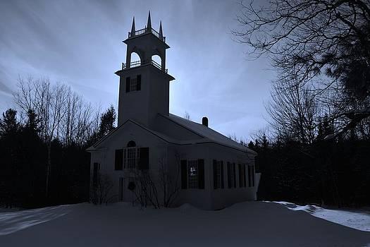 Moon Glow N. Wilmot Church by Naturally NH