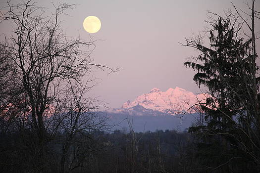 Moon Light On The Mountain by Donald Torgerson
