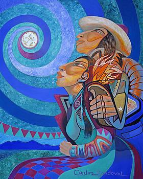 Moon Lovers by Carlos Sandoval