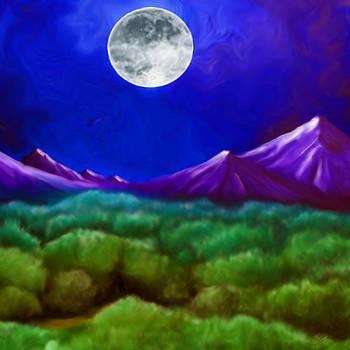 Moon Mountain by Karen R Scoville