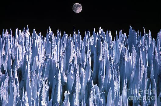 Daniele Pellegrini - Moon Over Agua Negra Pass in Argentina