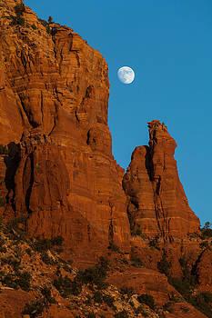 Moon Over Chicken Point by Ed Gleichman